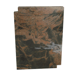 Indian Aurora Granite Gravestone